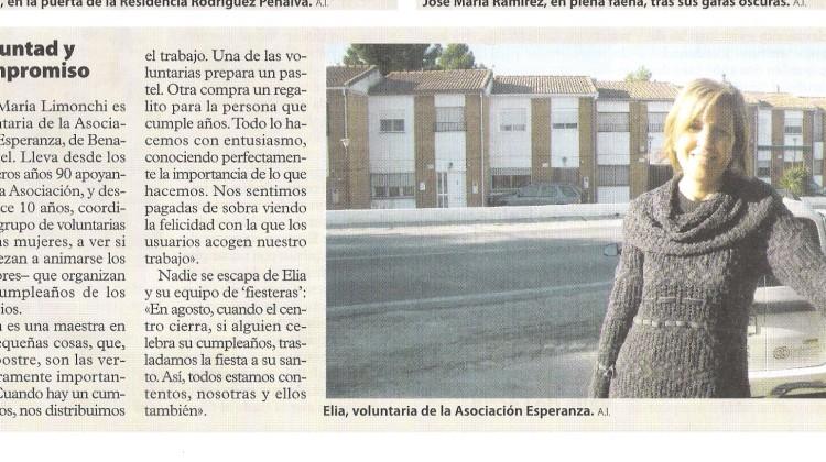 Voluntad y Compromiso Elia María Limonchi